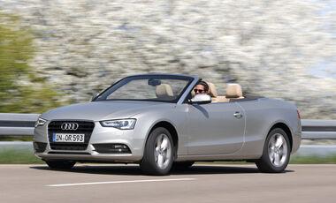 Audi A5 Cabrio, Seitenansicht