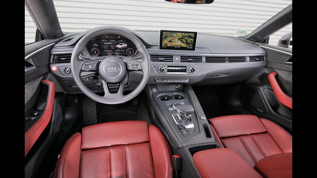 Audi A5 Coupé 2.0 TDI, Cockpit