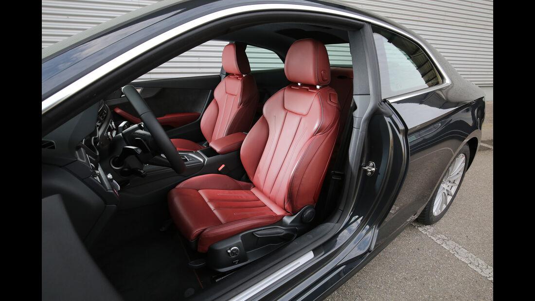Audi A5 Coupé 2.0 TDI, Fahrersitz