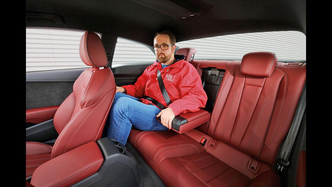 Audi A5 Coupé 2.0 TDI, Fondsitz