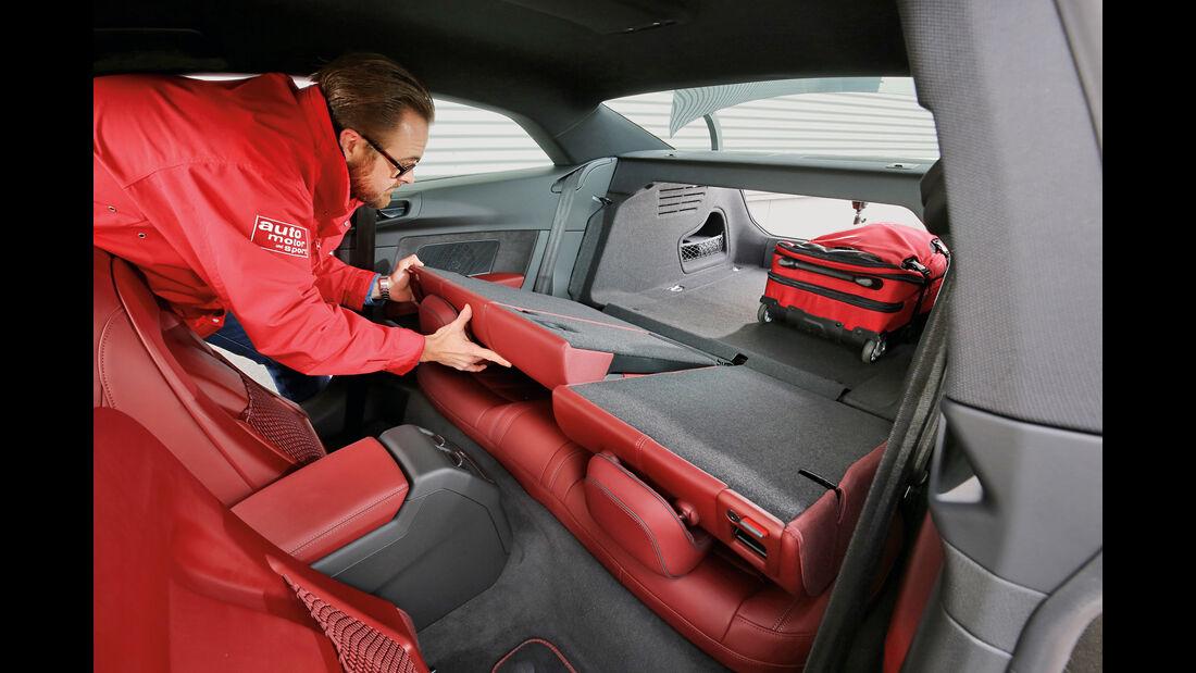 Audi A5 Coupé 2.0 TDI, Fondsitz, Umklappen
