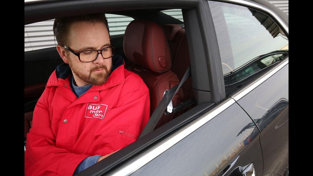 Audi A5 Coupé 2.0 TDI, Gurt