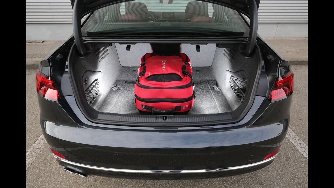 Audi A5 Coupé 2.0 TDI, Kofferraum