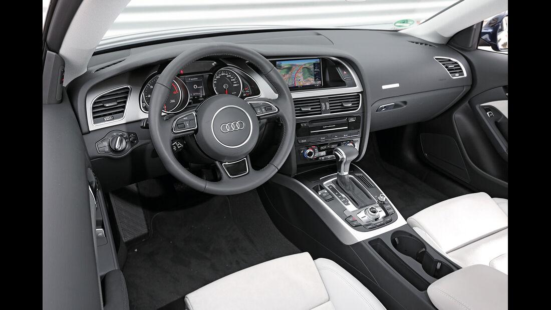 Audi A5 Coupé 2.0 TDI Quattro, Cockpit