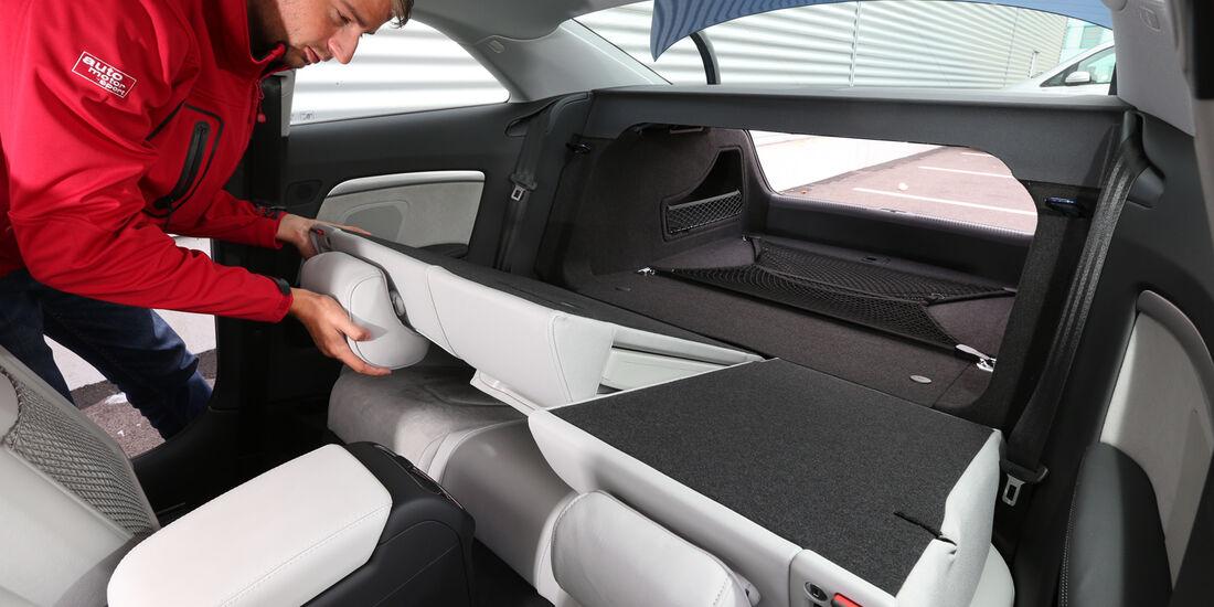 Audi A5 Coupé 2.0 TDI Quattro, Rücksitz, Umklappen