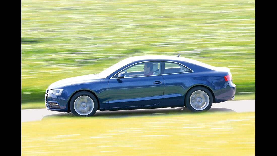 Audi A5 Coupé 2.0 TDI Quattro, Seitenansicht