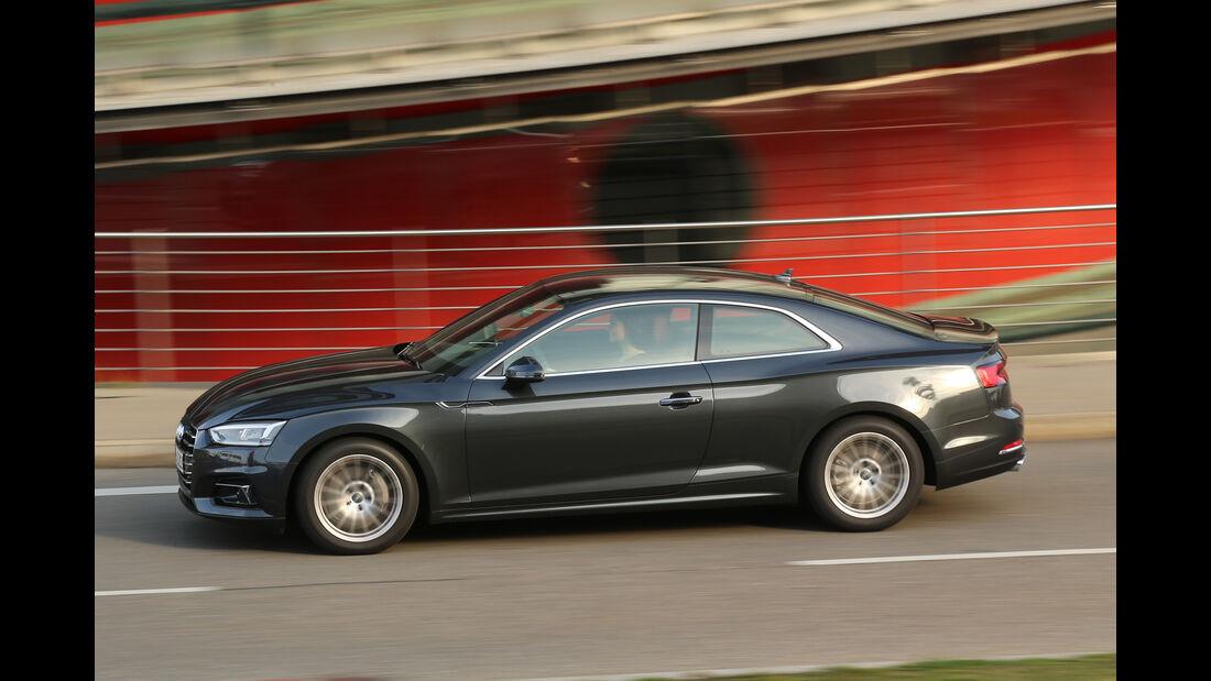 Audi A5 Coupé 2.0 TDI, Seitenansicht