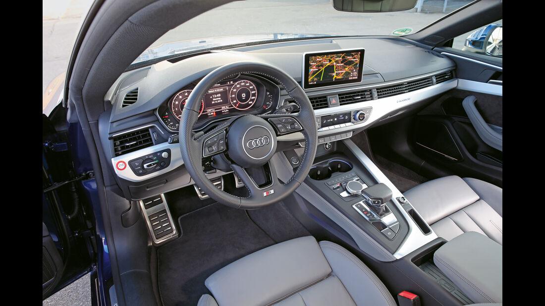 Audi A5 Coupé 2.0 TFSI Quattro, Cockpit