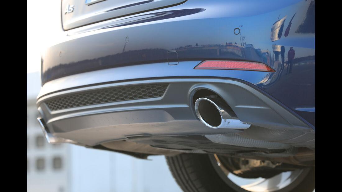 Audi A5 Coupé 2.0 TFSI Quattro, Endrohre
