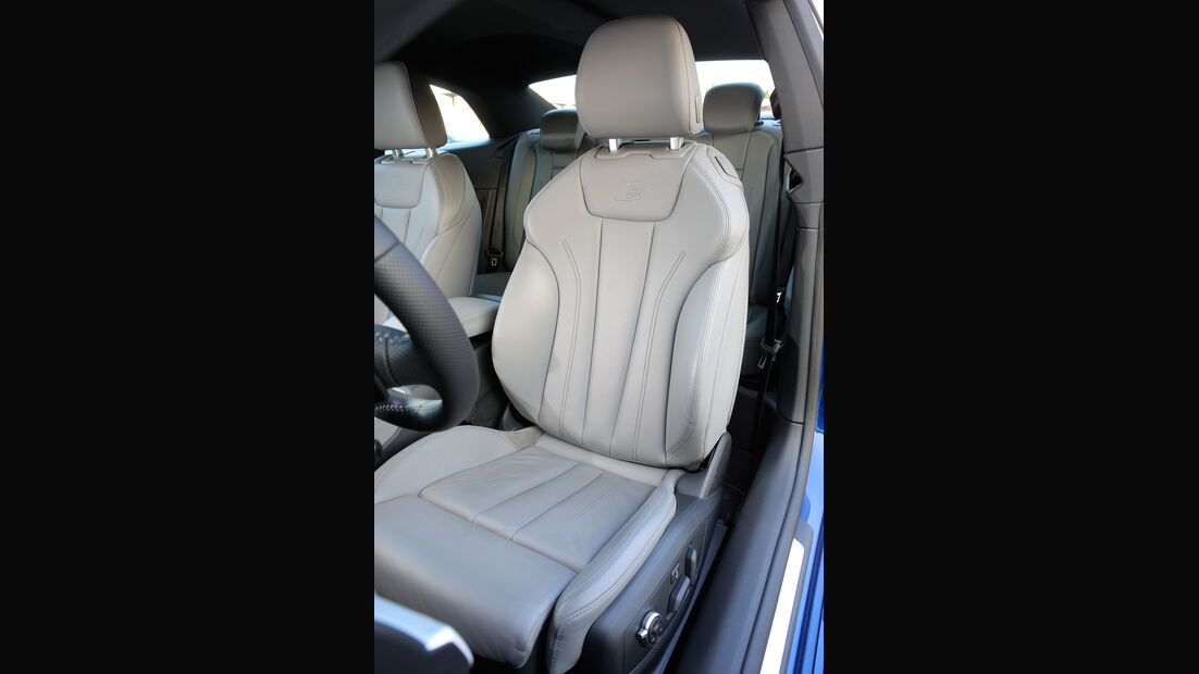 Audi A5 Coupé 2.0 TFSI Quattro, Fahrersitz