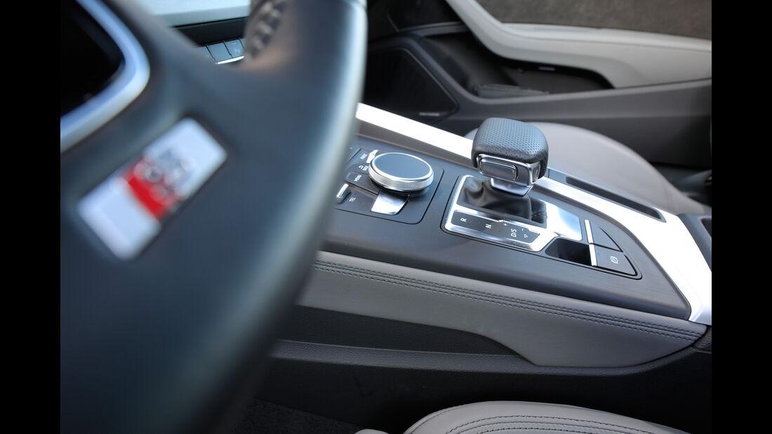 Audi A5 Coupé 2.0 TFSI Quattro, Schalthebel