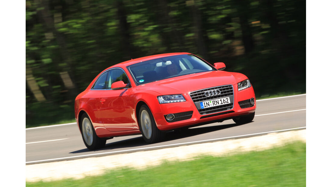 Audi A5 Coupe 1,8T, Front