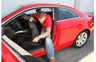Audi A5 Coupe, Ausstieg Fond