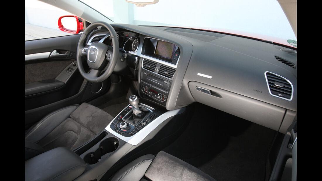 Audi A5 Coupe, Cockpit