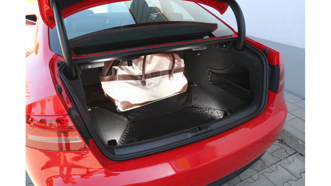 Audi A5 Coupe, Kofferraum