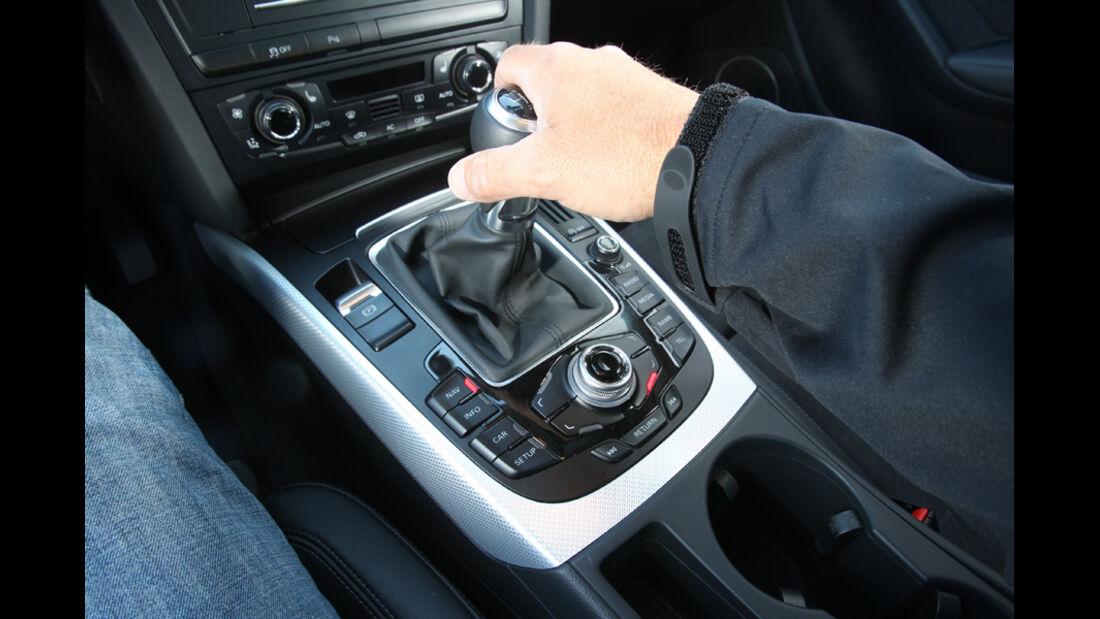 Audi A5 Coupe, Schaltung