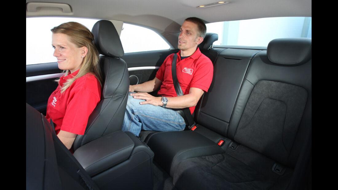 Audi A5 Coupe, Sitze, Fond
