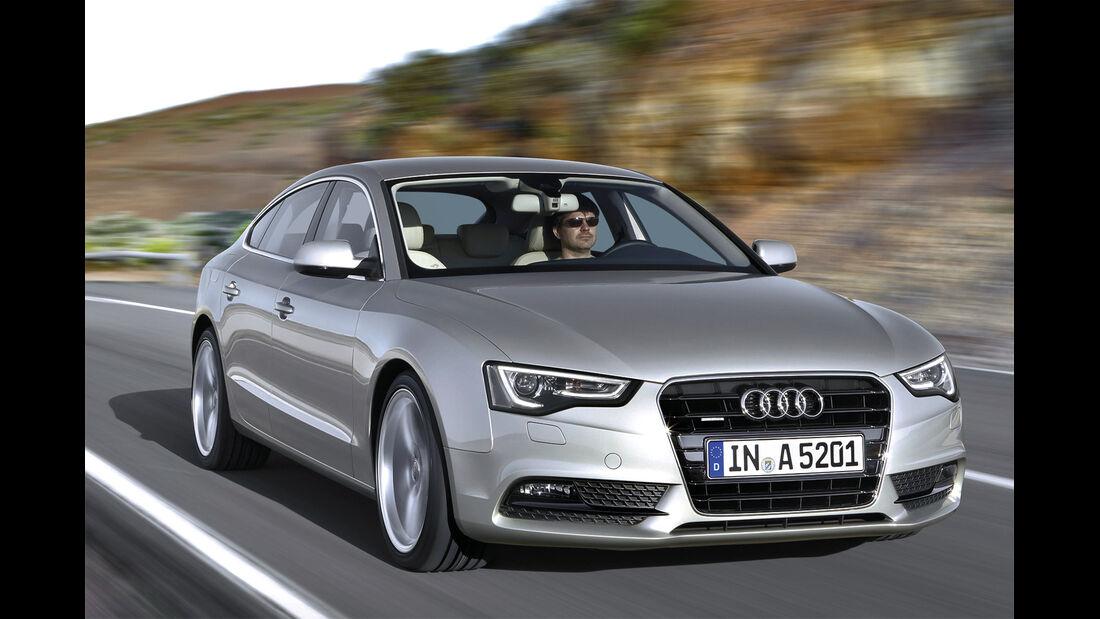 Audi A5, Frontansicht