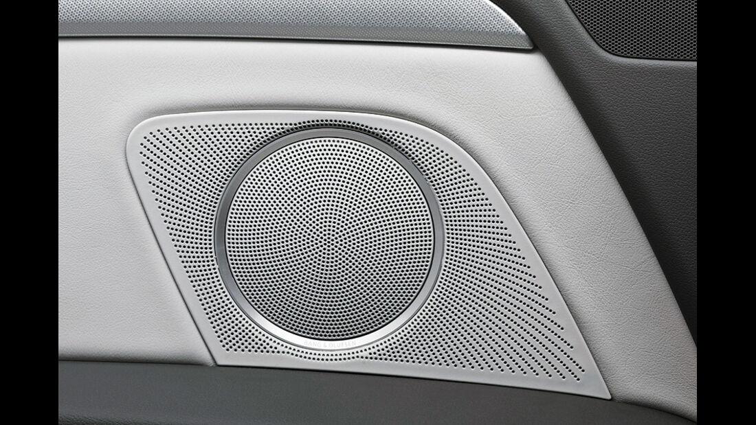 Audi A5 Kaufberatung, aumospo06/2011, Bose-Soundsystem