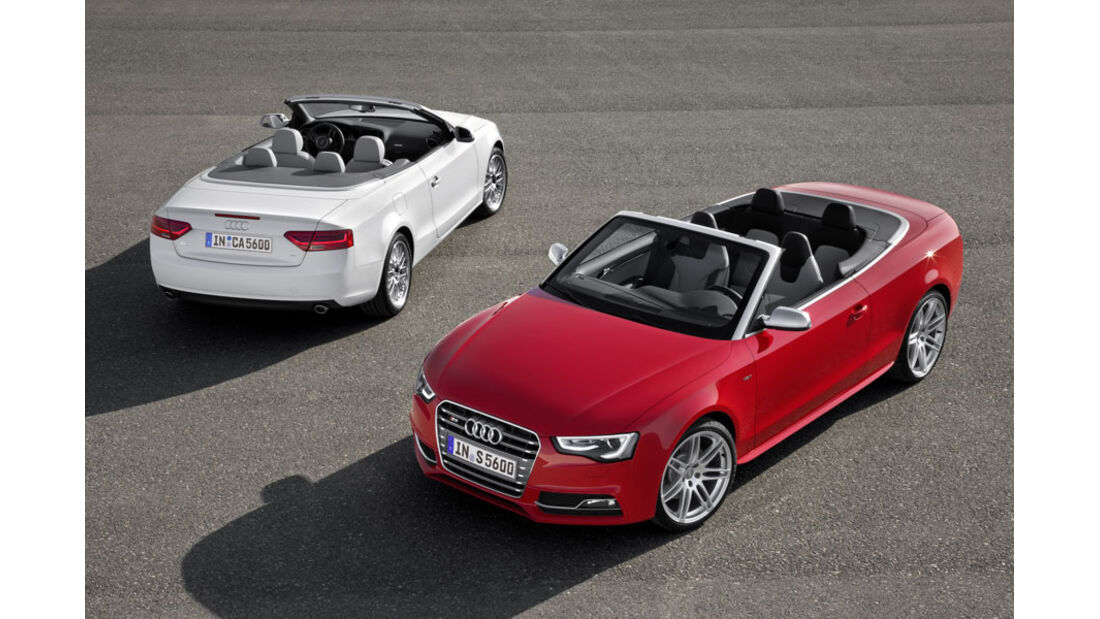 Audi A5, S5, 2012, Facelift