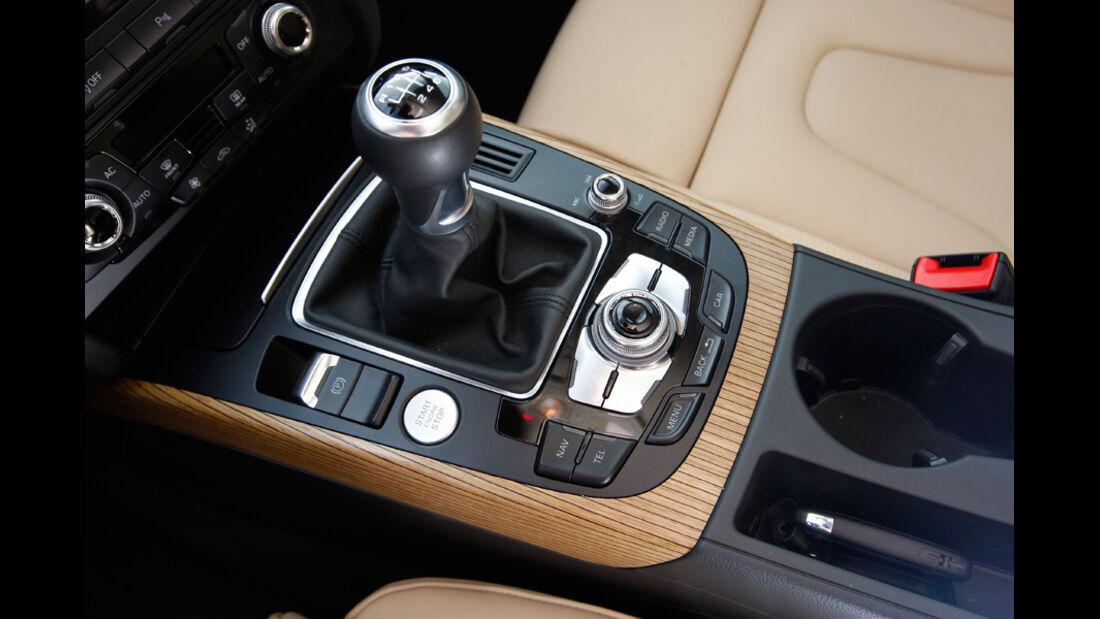 Audi A5 Sportback 1.8 TFSI, Gangschaltung