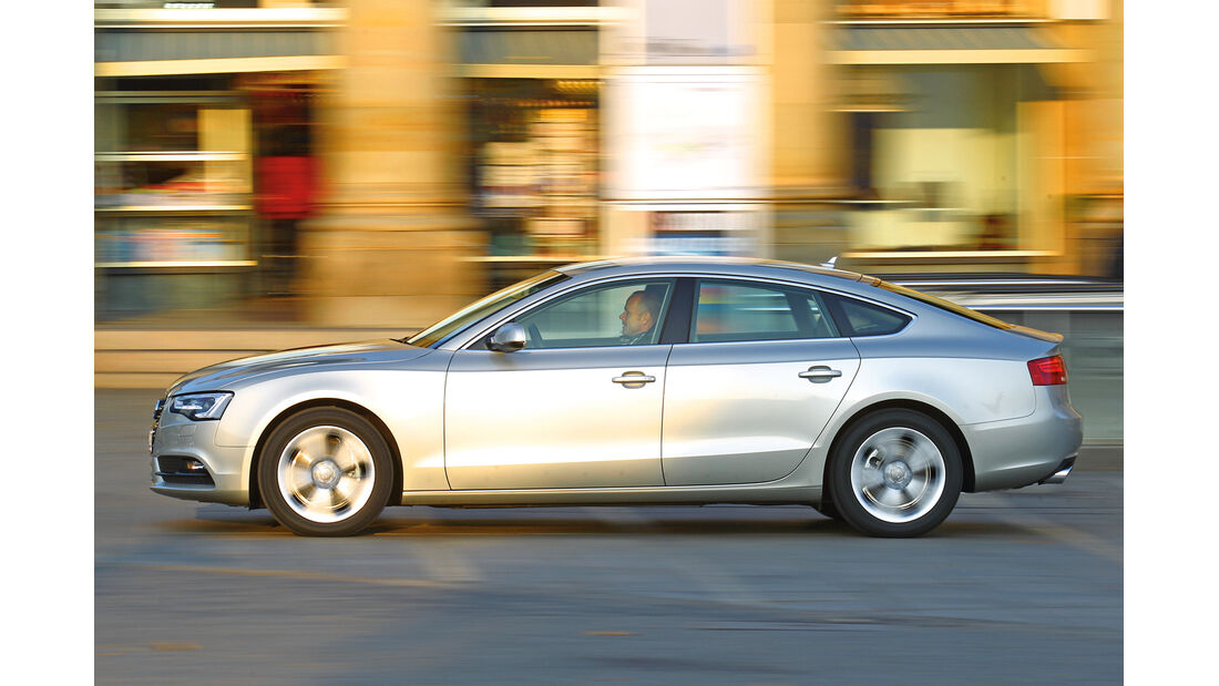 Audi A5 Sportback, 1.8 TFSI, Seitenansicht