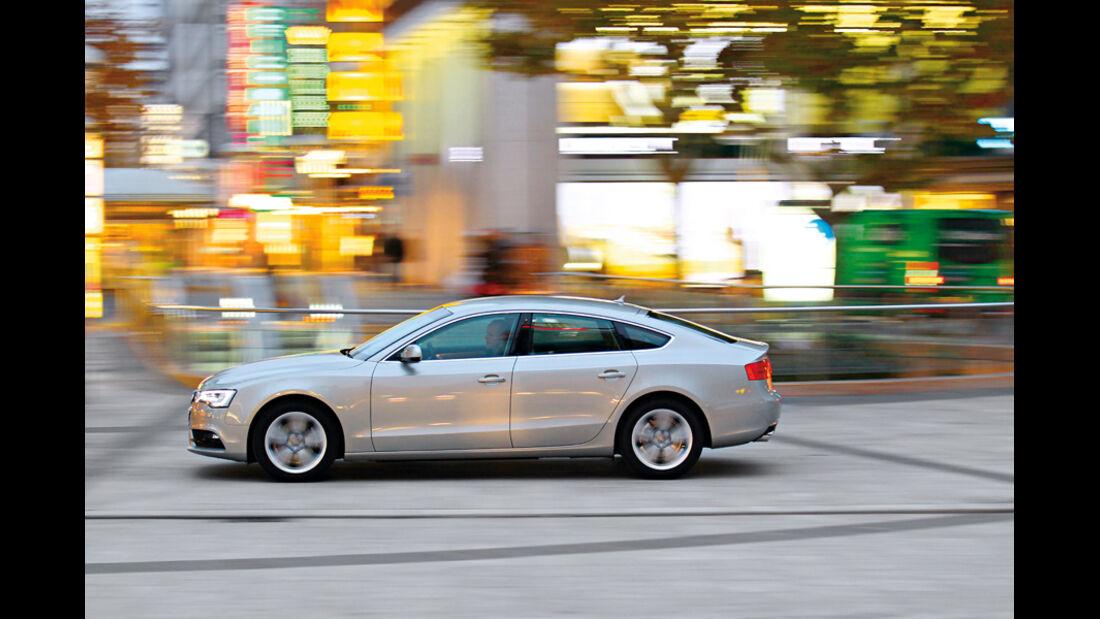 Audi A5 Sportback 1.8 TFSI, Seitenansicht