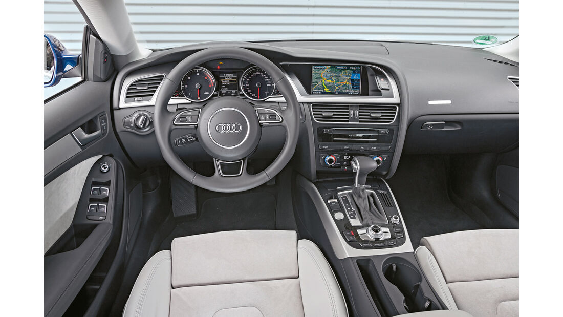 Audi A5 Sportback 2.0 TDI Quattro, Cockpit
