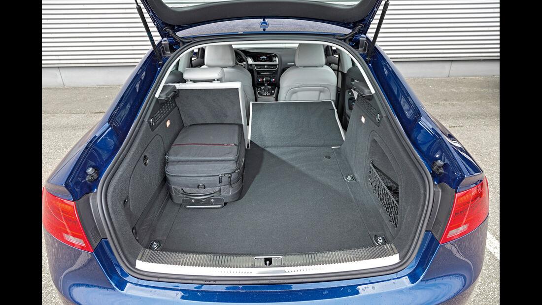 Audi A5 Sportback 2.0 TDI Quattro, Kofferraum