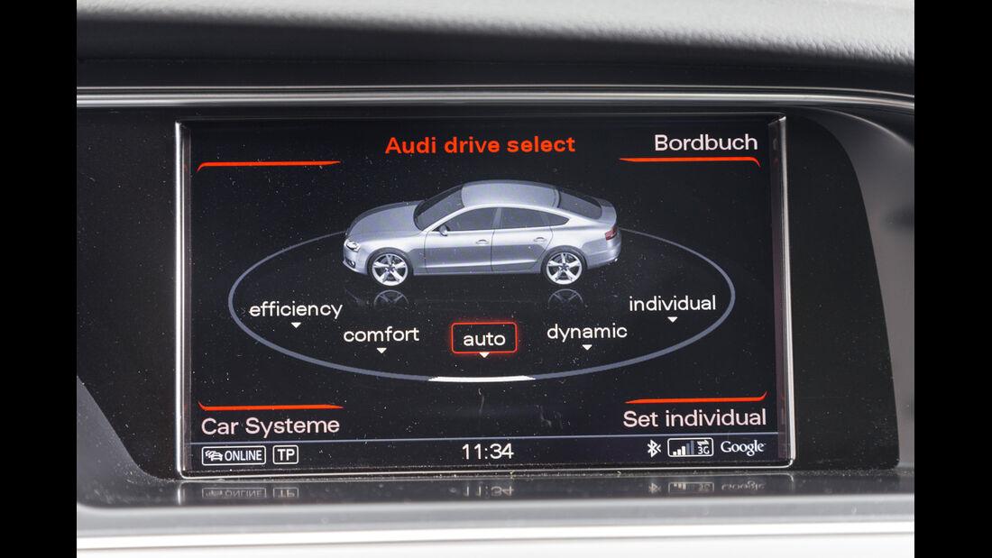 Audi A5 Sportback 2.0 TDI Quattro, Navi, Bildschirm