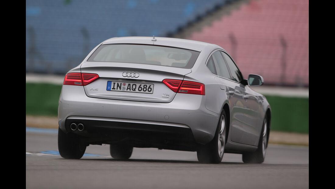 Audi A5 Sportback 2.0 TDI Ultra, Heckansicht