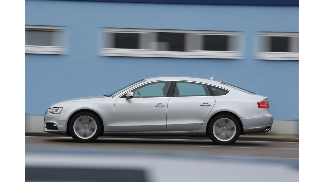 Audi A5 Sportback 2.0 TDI Ultra, Seitenansicht