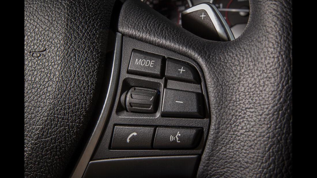 Audi A5 Sportback 3.0 TFSI, Bedienelemente