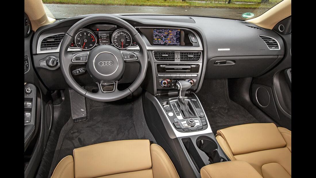 Audi A5 Sportback 3.0 TFSI, Cockpit