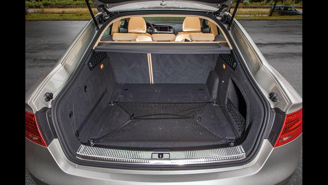 Audi A5 Sportback 3.0 TFSI, Kofferraum