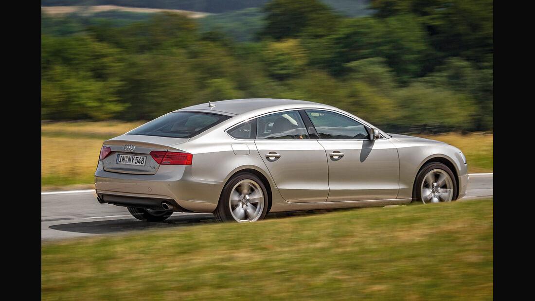 Audi A5 Sportback 3.0 TFSI, Seitenspiegel