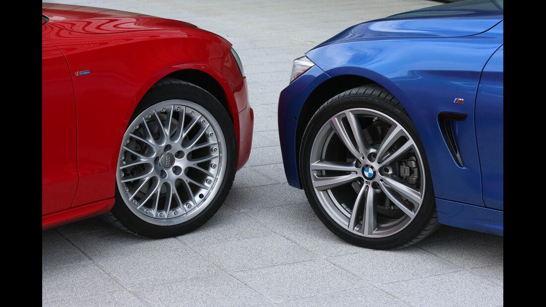 Audi A5 Sportback, BMW Vierer Gran Coupé, Rad, Felge