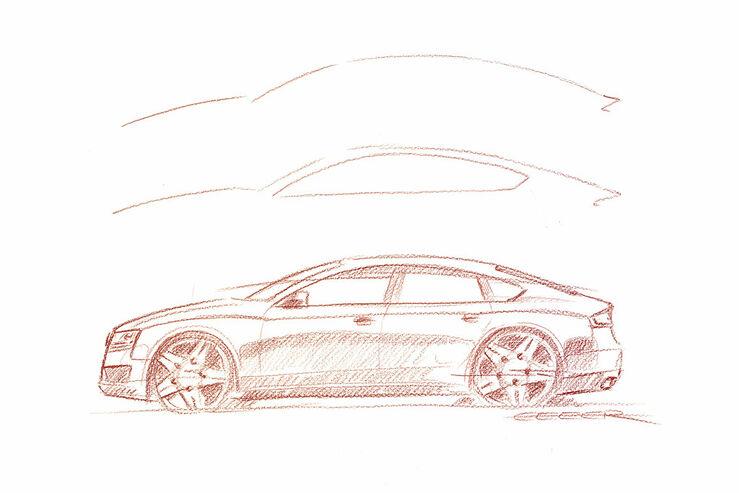 Audi A5 Sportback, Design