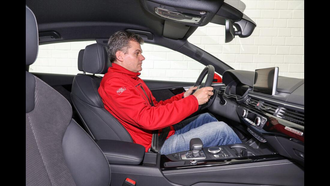 Audi A5 Sportback, Fahrersitz