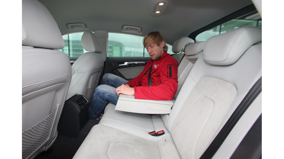 Audi A5 Sportback, Fondsitz