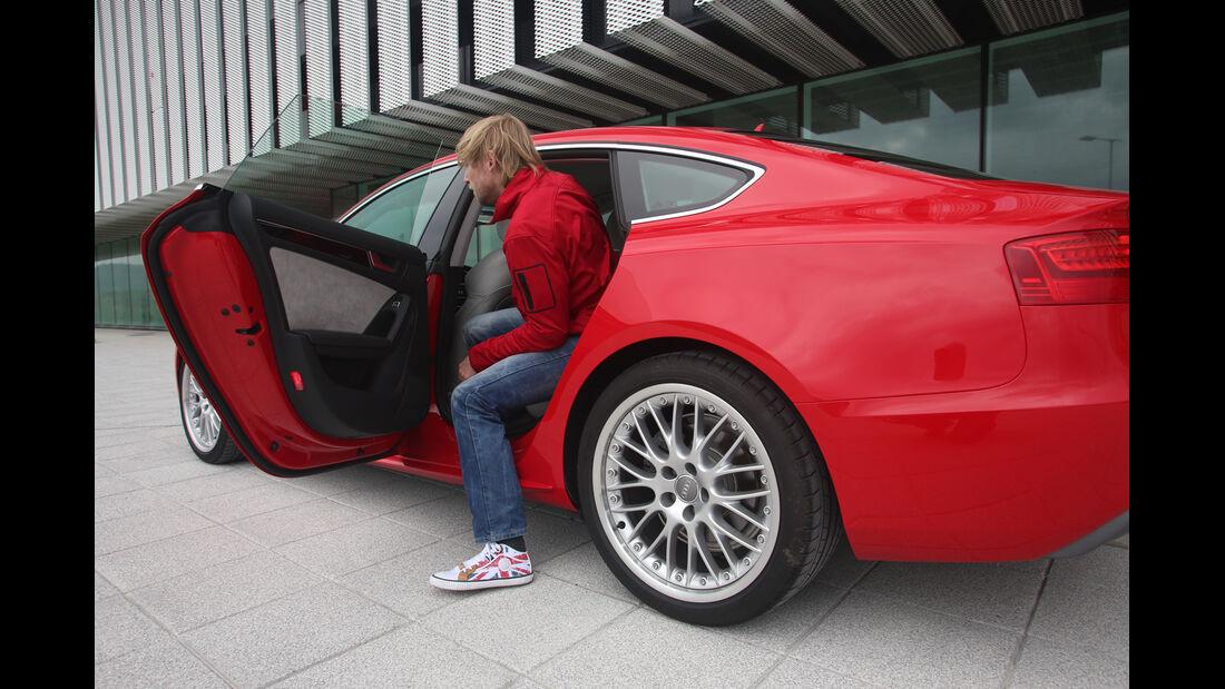 Audi A5 Sportback, Fondsitz, Aussteigen