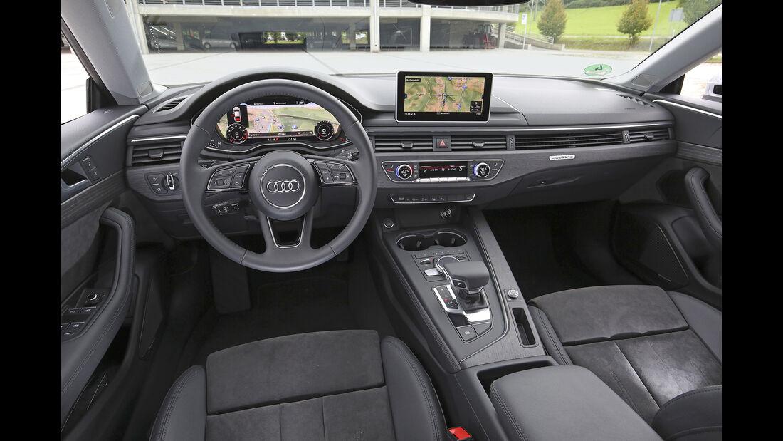 Audi A5 Sportback, Interieur