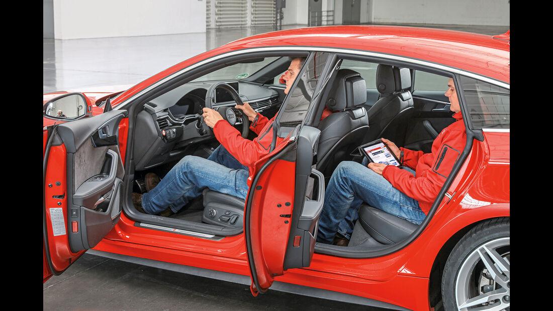 Audi A5 Sportback, Seitentüren