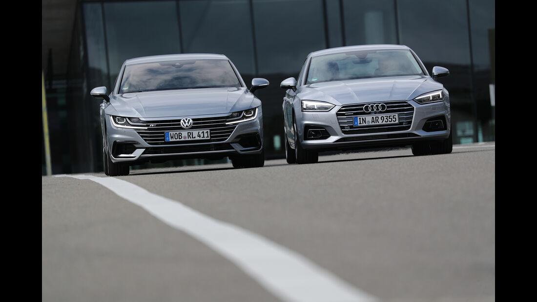 Audi A5 Sportback, VW Arteon, Exterieur