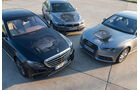 Audi A6 2.0 TDI, BMW 520d, Mercedes E 220 d, Motoren