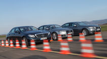 Audi A6 2.0 TDI, BMW 520d, Mercedes E 220 d