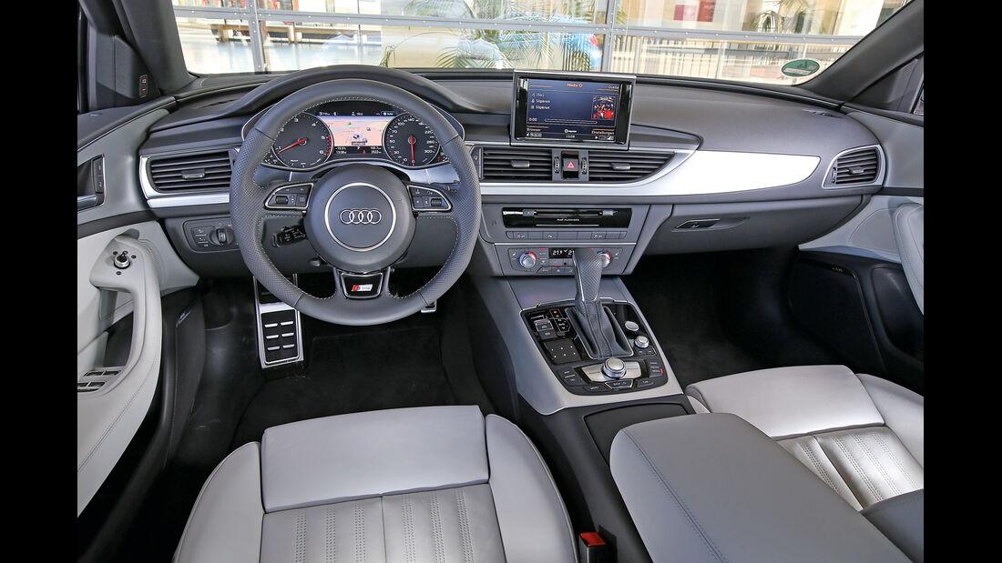 Audi A6 2.0 TDI, Cockpit
