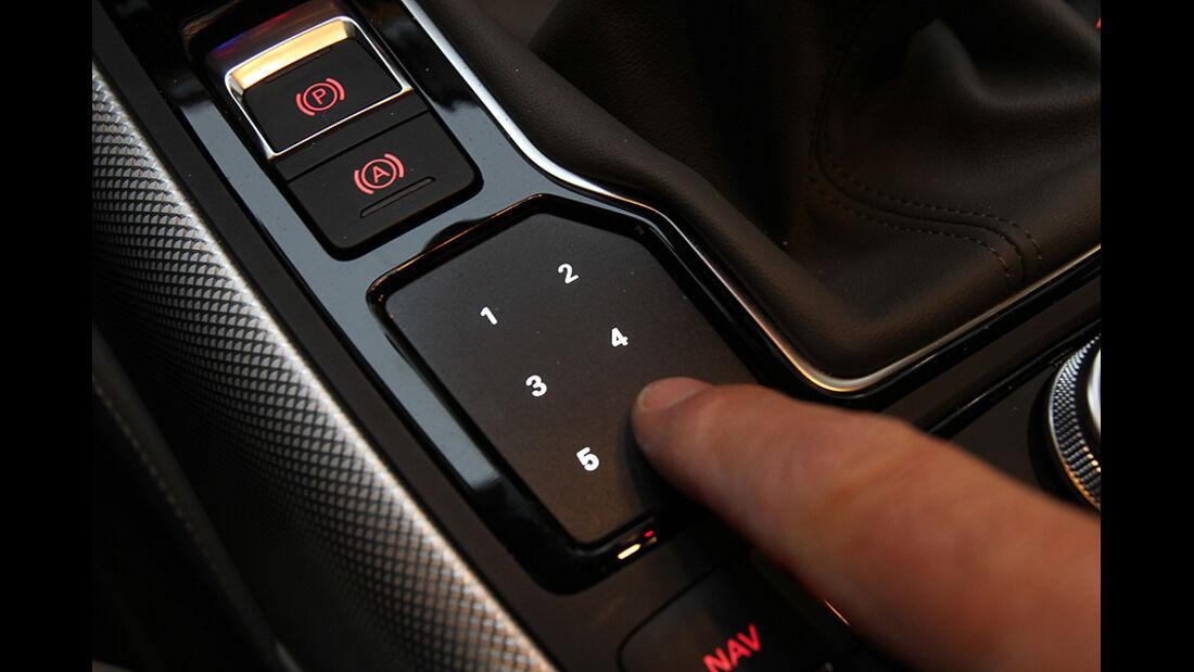 Audi A6 2.0 TDI, Cockpit, Bedienfeld, Mittelkonsole