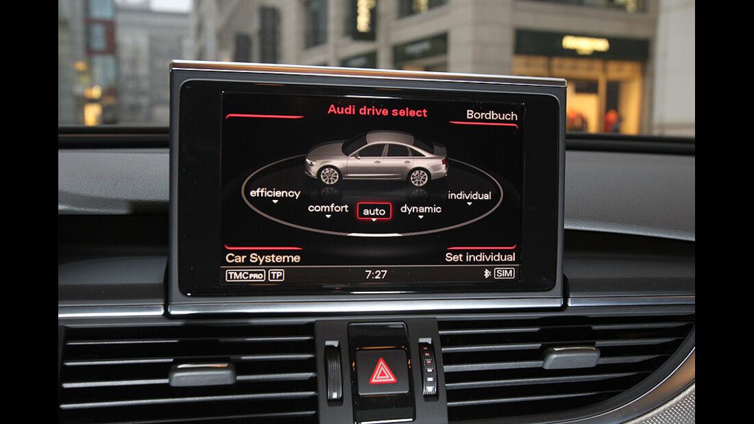 Audi A6 2.0 TDI, Cockpit, Display