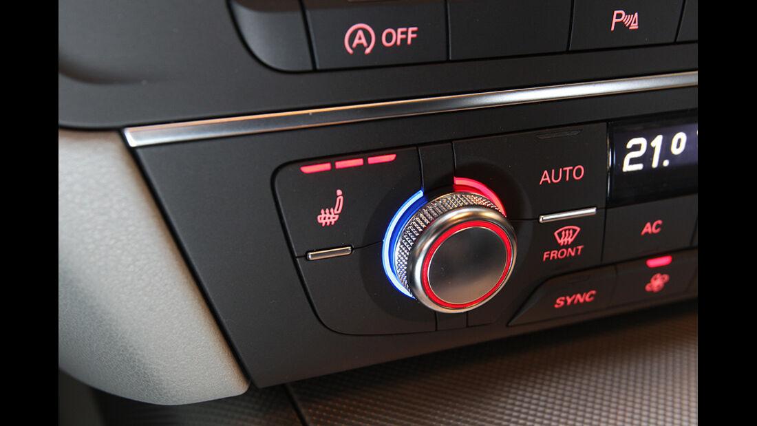 Audi A6 2.0 TDI, Cockpit, Klima